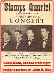 THE STAMPS QUARTET with EDDIE DEAN