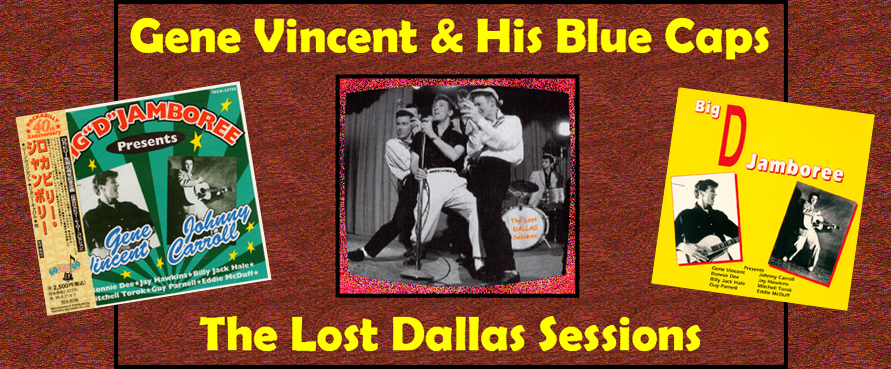 GENE VINCENT & His Blue Caps on the BIG D JAMBOREE