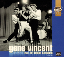 GENE VINCENT The Lost Dallas Sessions